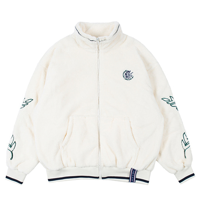 로맨틱크라운 자켓 YETI ZIP UP JACKET oatmeal