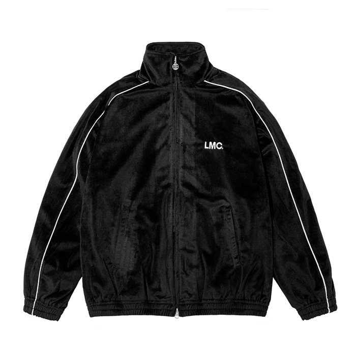 엘엠씨 LMC VELOUR TRACK TOP black