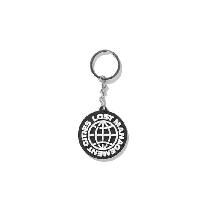 엘엠씨 LMC WHEEL RUBBER KEYCHAIN black
