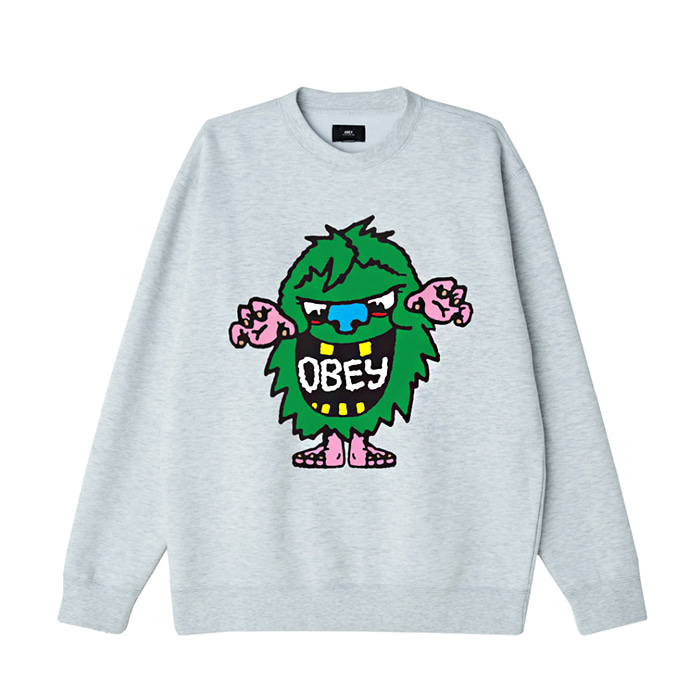 오베이 맨투맨 OBEY CREECH CREW / ASH GREY