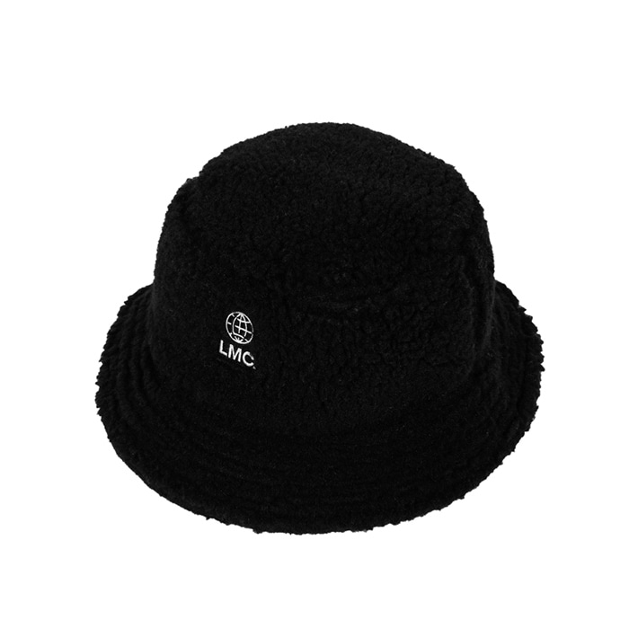 엘엠씨 버킷햇 LMC BOA FLEECE BUCKET HAT black