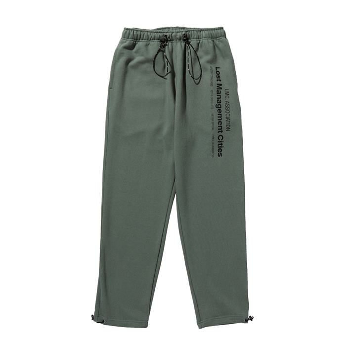 엘엠씨 LMC MIL SWEAT PANTS olive