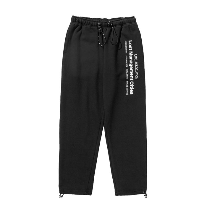 엘엠씨 LMC MIL SWEAT PANTS black