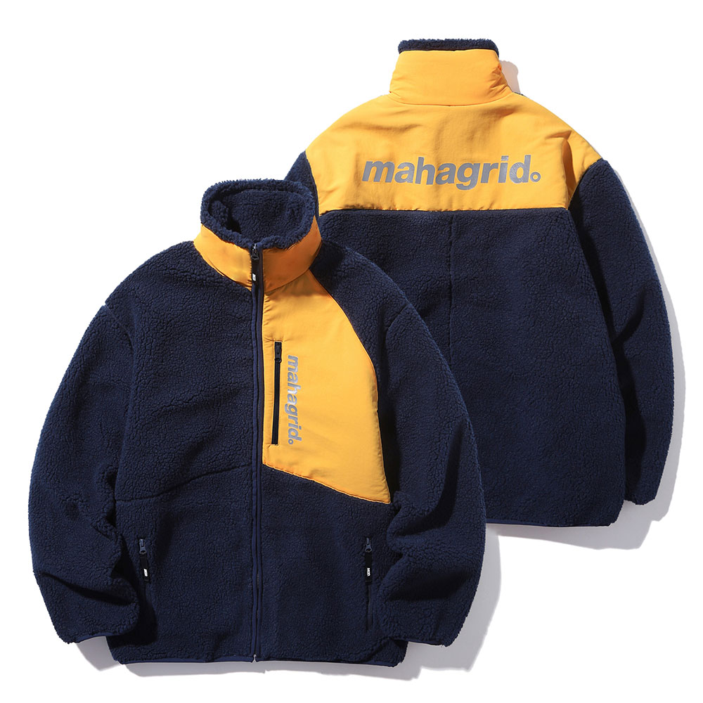 마하그리드 자켓 HEAVY FLEECE JACKET NAVY(MG1JWMB940A)