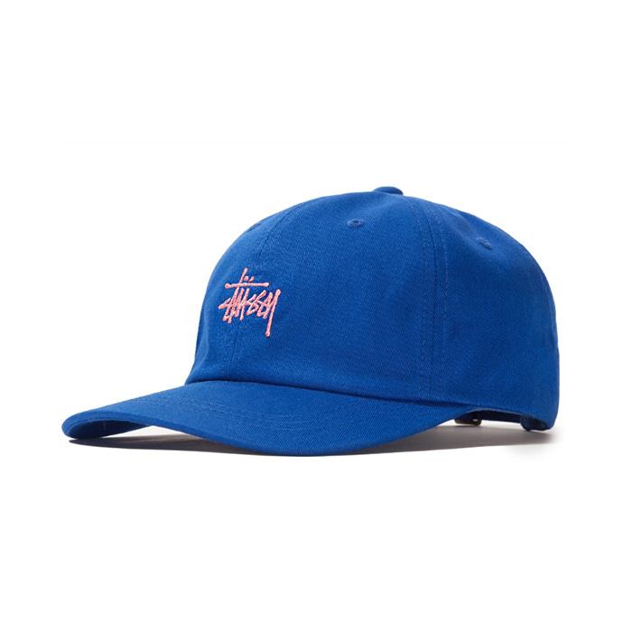 스투시 볼캡 SU19 STOCK LOW PRO CAP/ROYAL