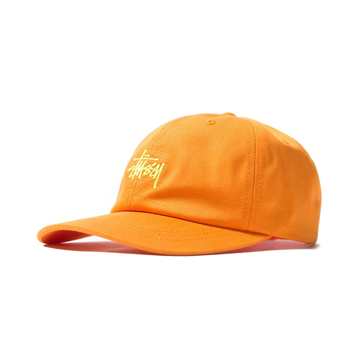 스투시 볼캡 SP19 STOCK LOW PRO CAP/ORANGE
