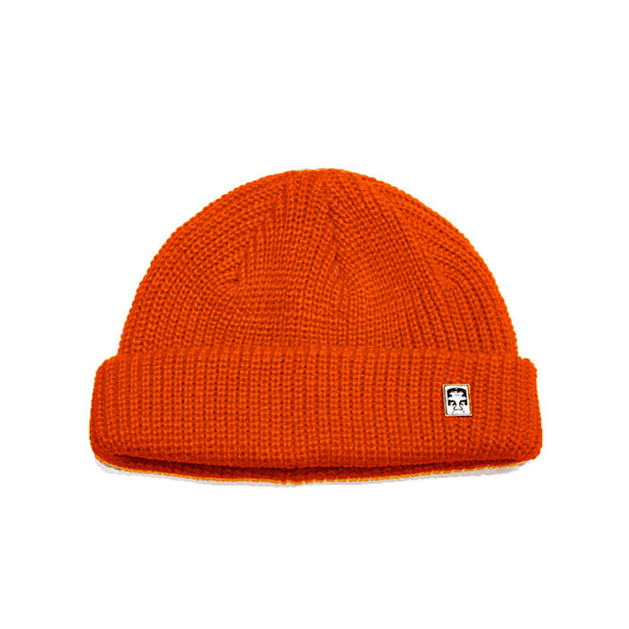 오베이 비니 MICRO BEANIE/BURNT RED