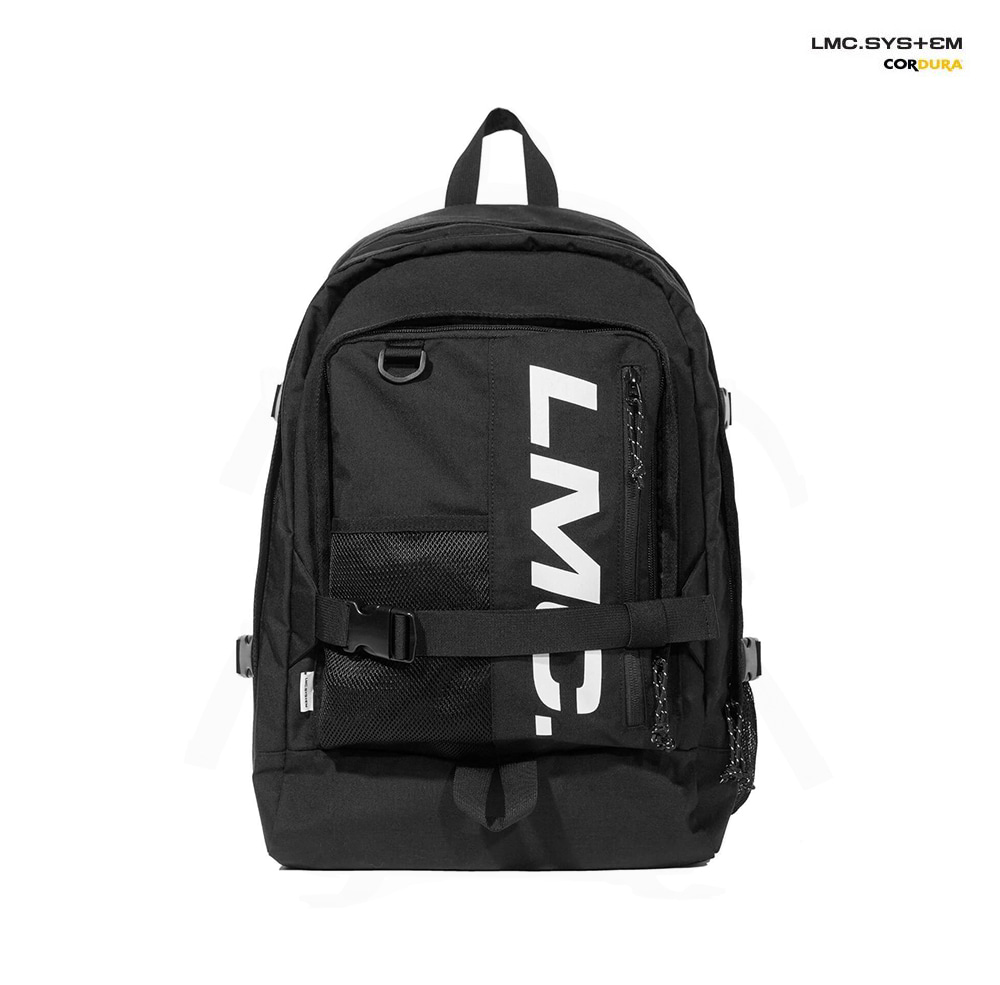 엘엠씨 백팩 LMC SYSTEM VERTICAL BACKPACK black