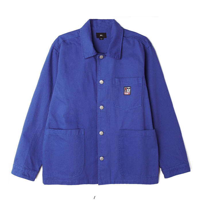 오베이 자켓 PEBBLE CHORE JACKET/ULTRAMARINE