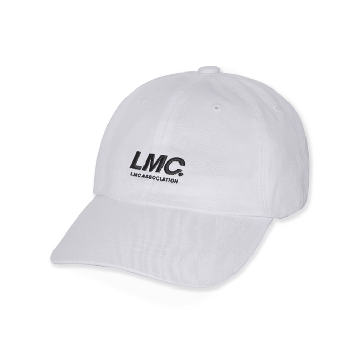 엘엠씨 모자 LMC ITALIC ASSOCIATION 6 PANEL CAP white