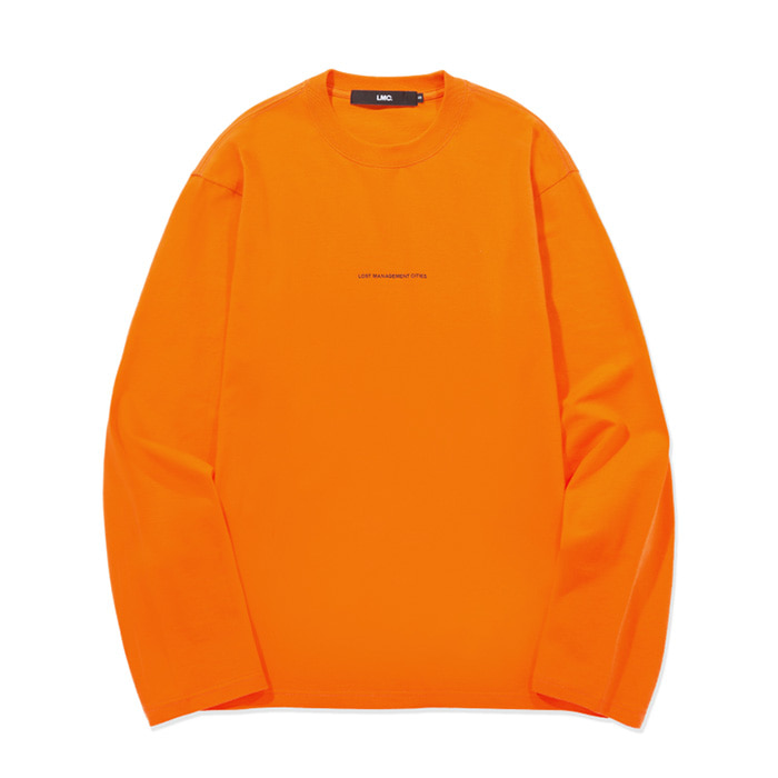 엘엠씨 롱슬리브 LMC MICRO FN LONG SLV TEE orange