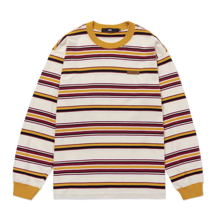 엘엠씨 롱슬리브 LMC MULTI STRIPE LONG SLV TEE cream