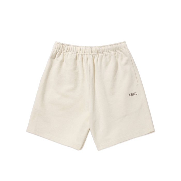엘엠씨 반바지 LMC OG SWEAT SHORTS cream