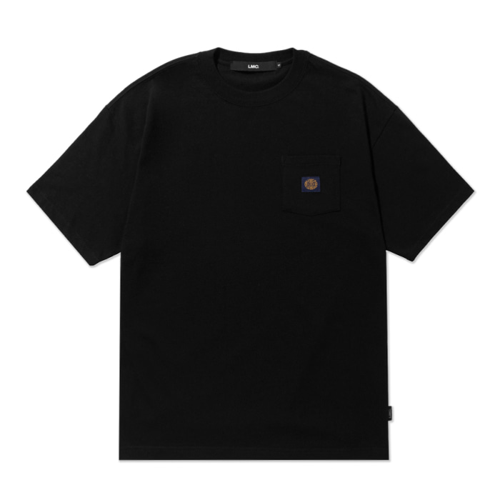 엘엠씨 티셔츠 LMC BASIC POCKET TEE black
