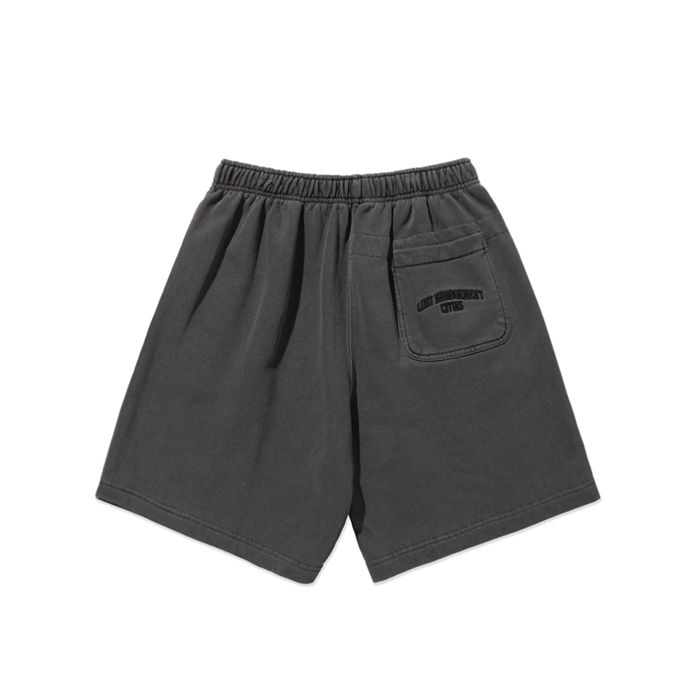 엘엠씨 반바지 LMC OVERDYED ARCH FN SWEAT SHORTS black