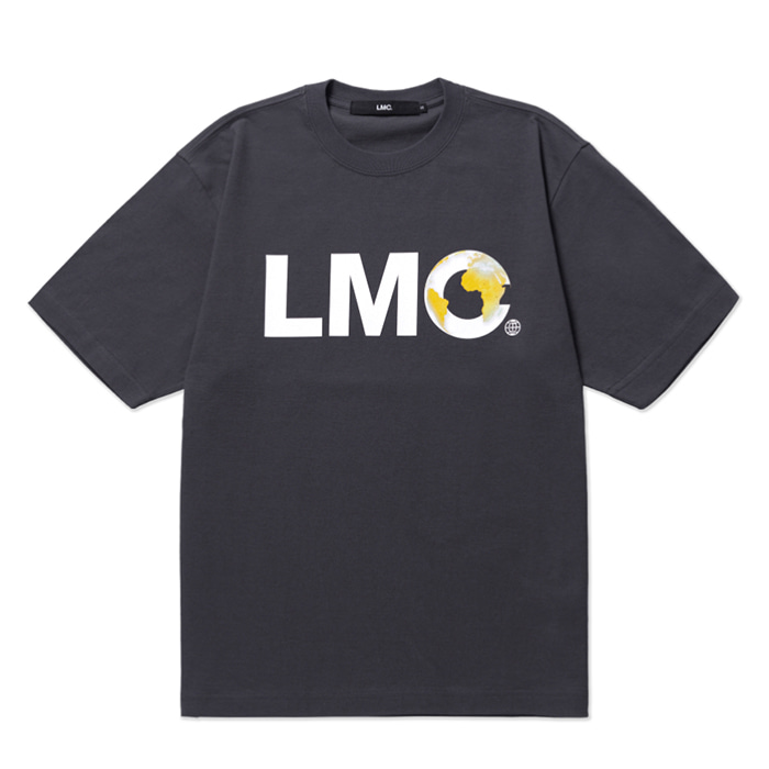 엘엠씨 반팔티 LMC EARTH LOGO TEE charcoal