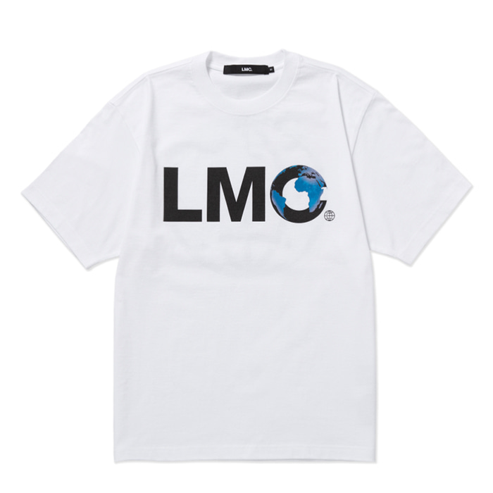 엘엠씨 반팔티 LMC EARTH LOGO TEE white