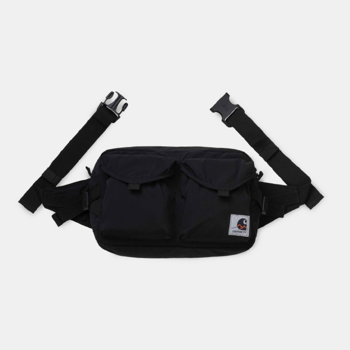 칼하트wip HAYES HIP BAG/ Black