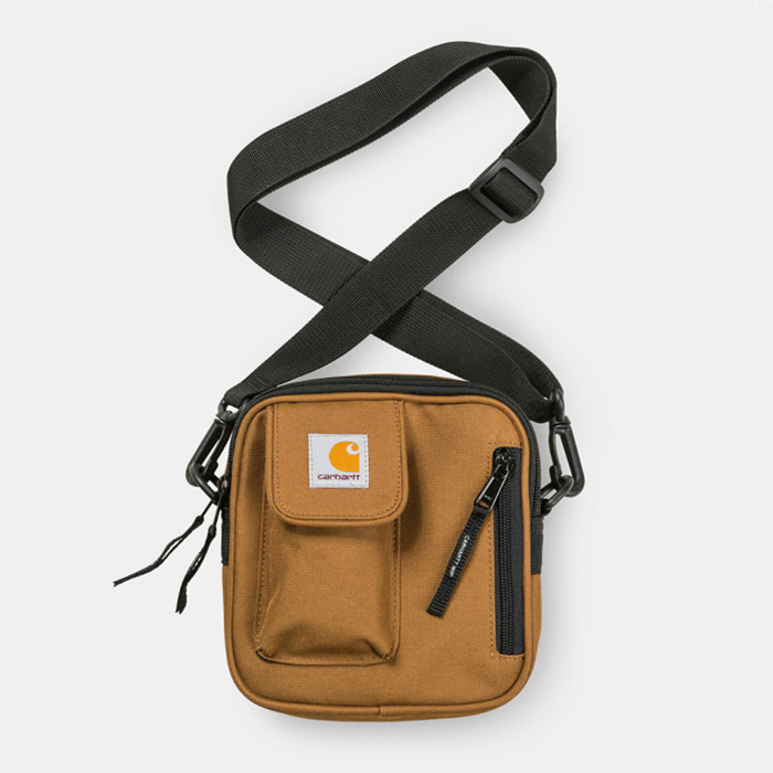 칼하트wip ESSENTIALS BAG, SMALL/ Hamilton Brown