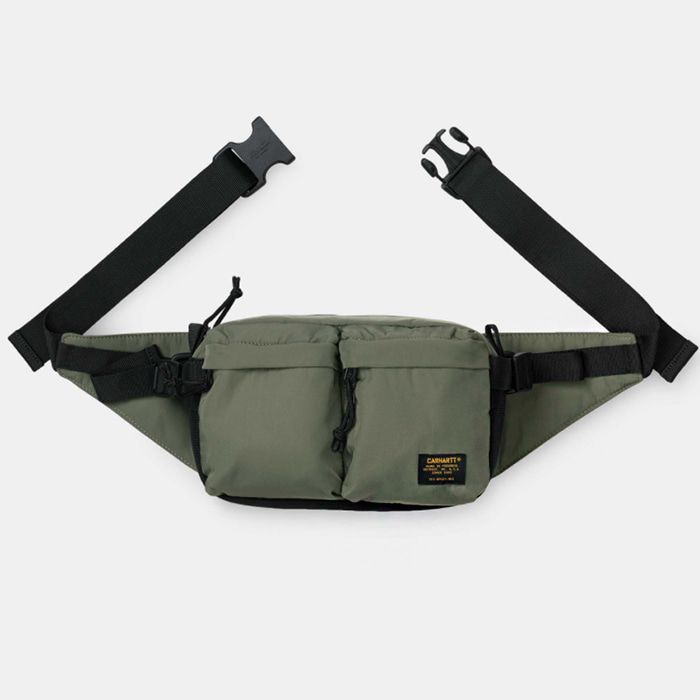 칼하트wip MILITARY HIP BAG/ Dollar Green