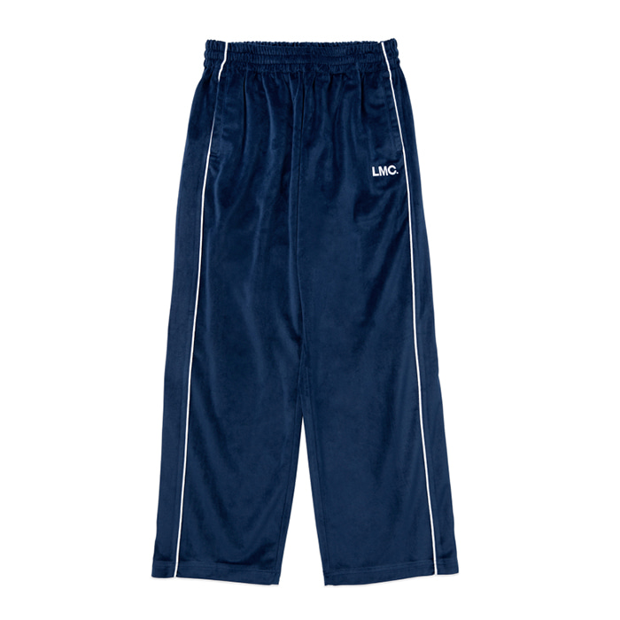 엘엠씨 LMC VELOUR TRACK PANTS navy