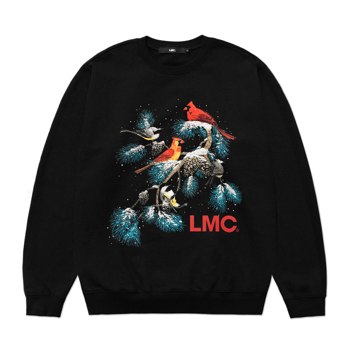 엘엠씨 맨투맨 LMC CHRISTMAS OVERSIZED SWEATSHIRT black (재입고)