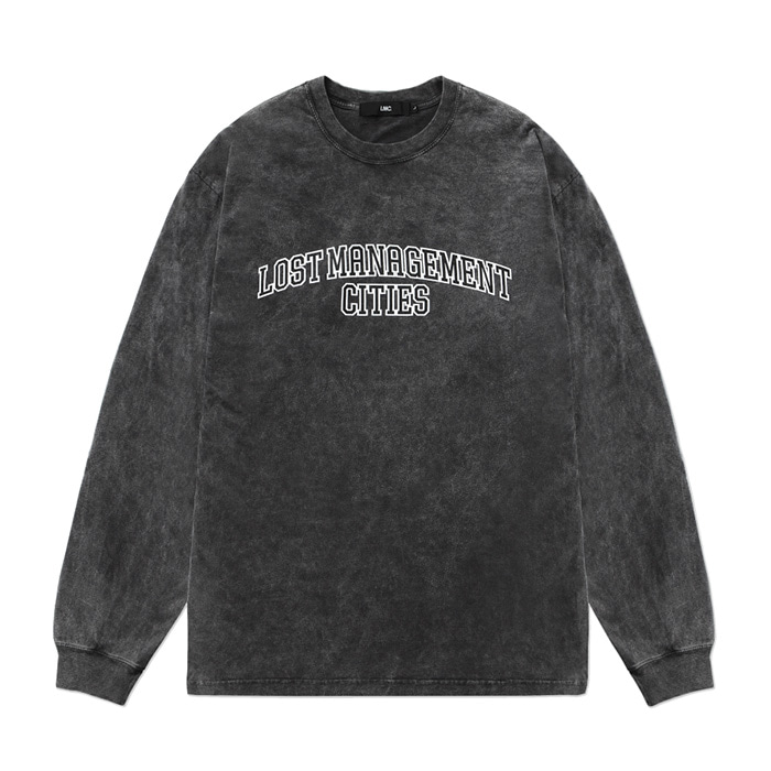 엘엠씨 롱슬리브 LMC ACID WASHED ARCH FN LONG SLV TEE black