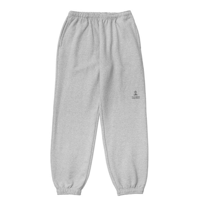 엘엠씨 LMC SIGNATURE GLOBE SWEAT PANTS heather gray