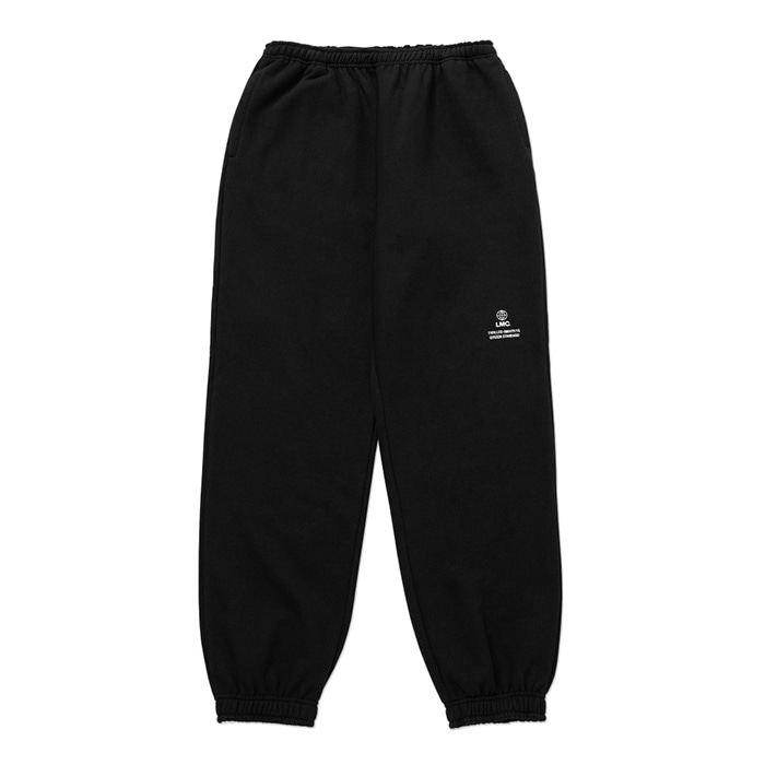 엘엠씨 LMC SIGNATURE GLOBE SWEAT PANTS black