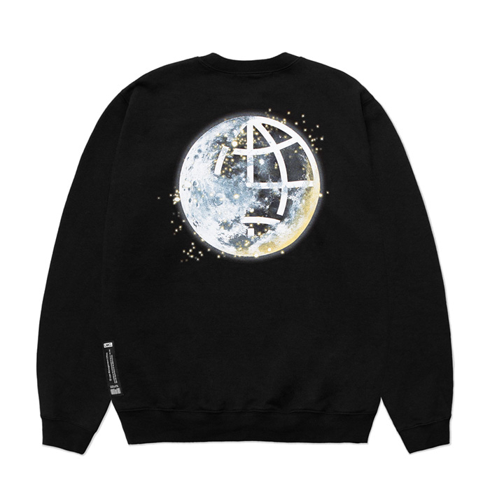 엘엠씨 맨투맨 LMC MOON SWEATSHIRT black