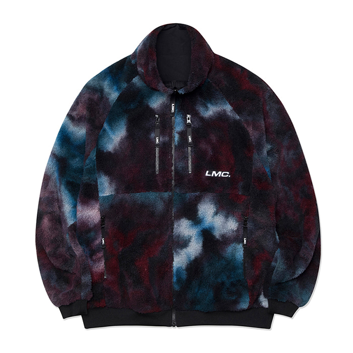 엘엠씨 자켓 LMC UTILITY SILKY FLEECE REVERSIBLE JACKET multi/black