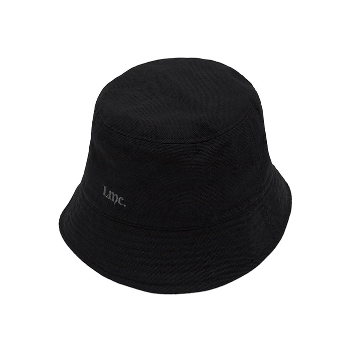 엘엠씨 모자 LMC STONE WASHED BUCKET HAT black