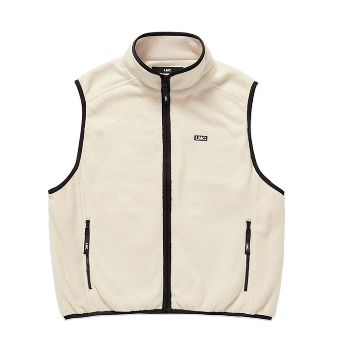 엘엠씨 LMC POLAR FLEECE VEST beige