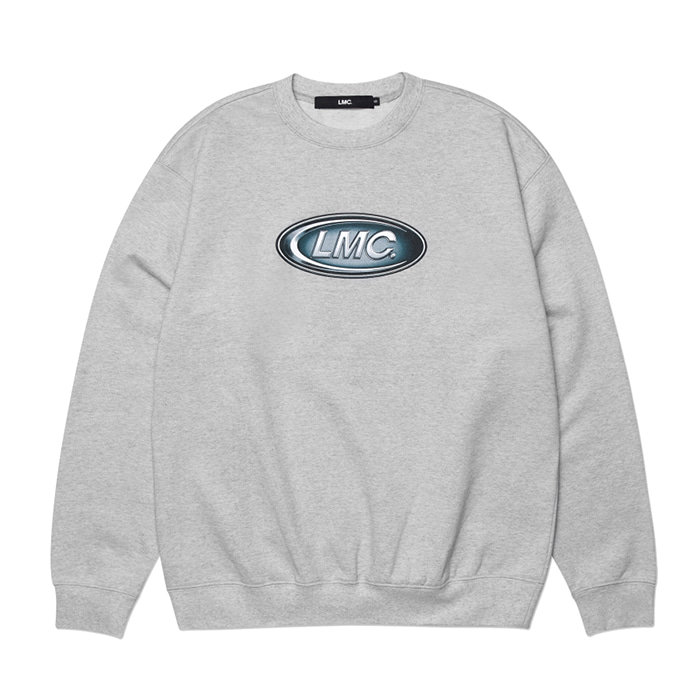 엘엠씨 맨투맨 LMC CONVEX CO SWEATSHIRT heather gray