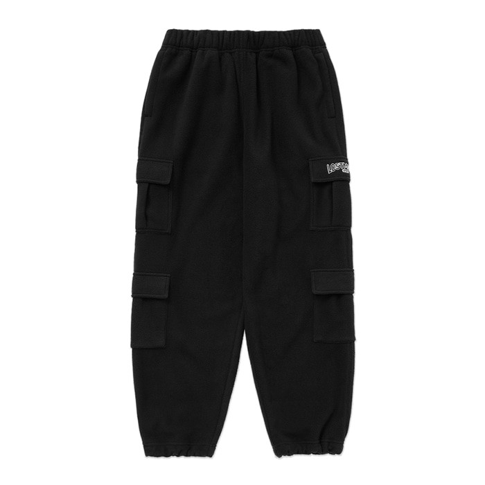엘엠씨 LMC FLEECE CARGO PANTS black
