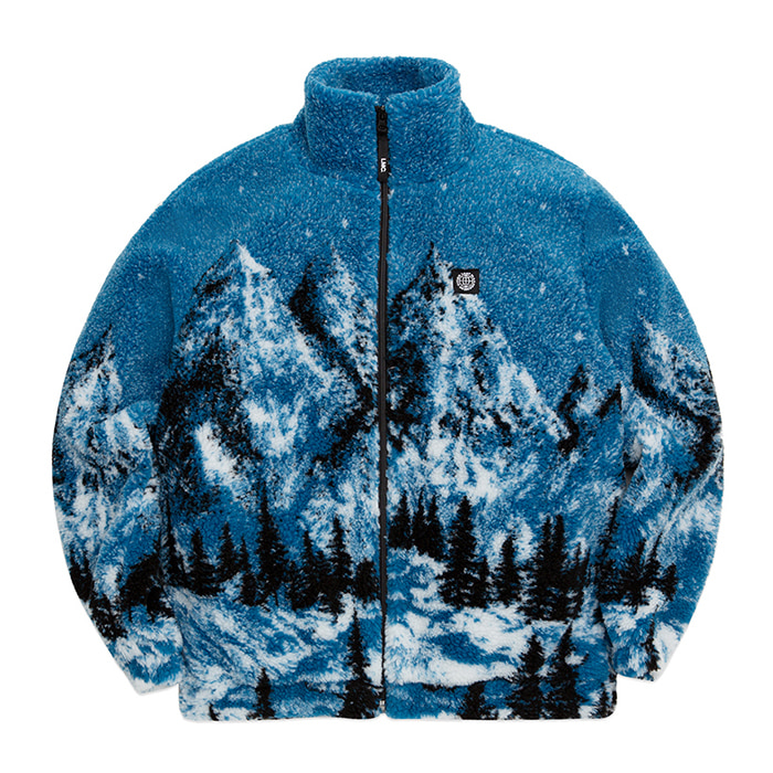 엘엠씨 자켓 LMC SNOW VILLAGE FLEECE JACKET blue