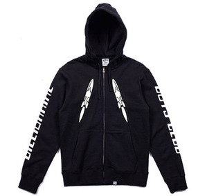 빌리어네어 보이즈클럽 후드집업 billionaire boys club_digital zip - through hood // black