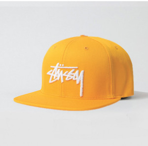스투시 STOCK SP15 CAP YELLOW