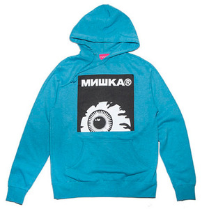 미쉬카 후드 KEEP WATCH BOX LOGO PULLOVER HOODIE  //  TURQUOISE HEATHER