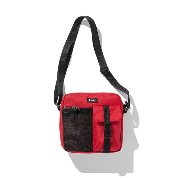 엘엠씨 LMC MINI CROSS BAG red