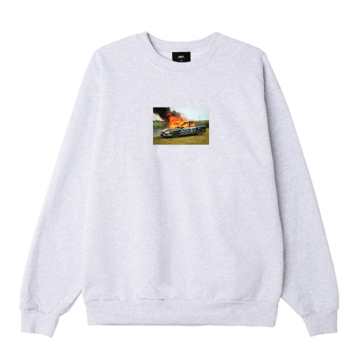 오베이 맨투맨 THE SUBURBS PREMIUM CREWNECK / ASH GREY