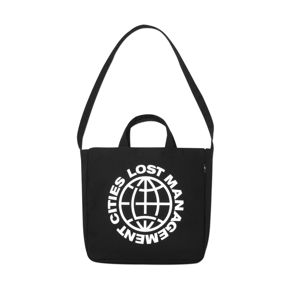 엘엠씨 가방 LMC WHEEL CANVAS ECO BAG black