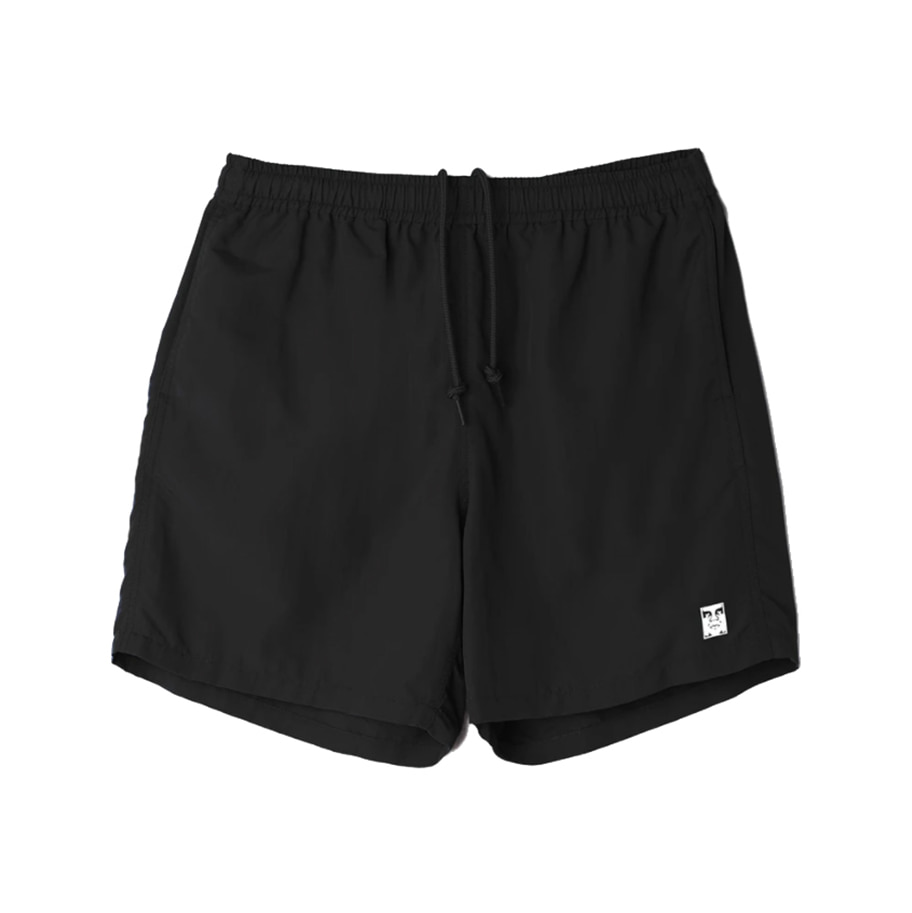 오베이 EASY RELAXED SHORT black