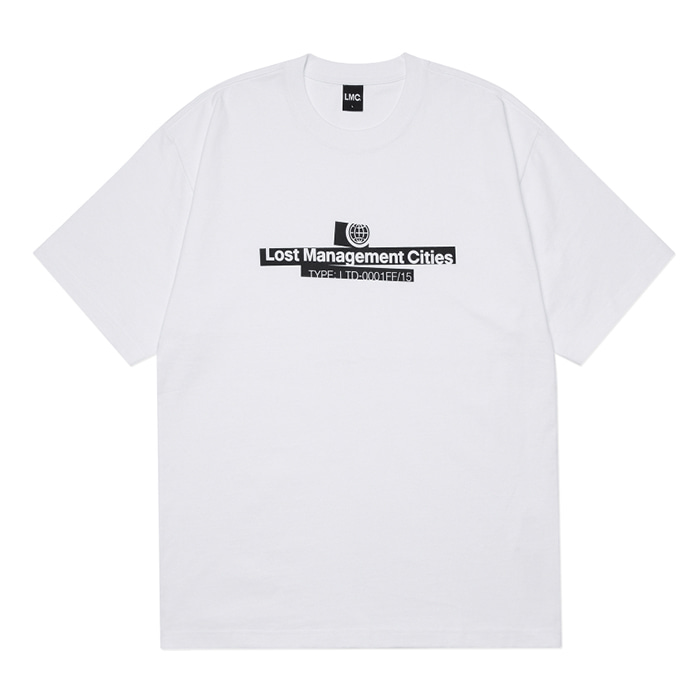 엘엠씨 티셔츠 LMC MARKING TEE white
