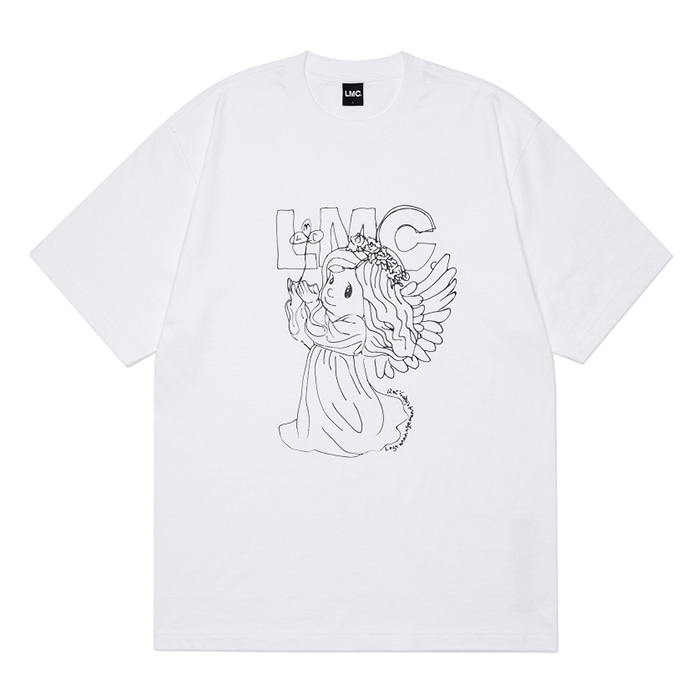 엘엠씨 티셔츠 LMC ANGEL TEE white