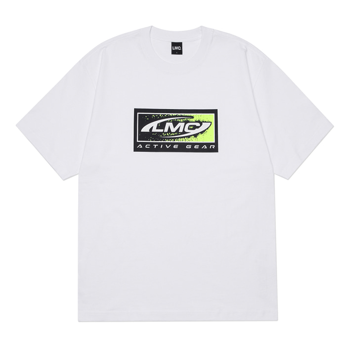 엘엠씨 티셔츠  LMC BOX ACTIVE GEAR TEE white